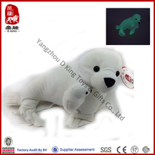 2014 new product stuffed plush water animal soft toy sea lion