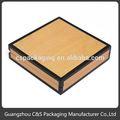 de promoción de embalaje de grado superior de madera de terciopelo caja de fósforos de seguridad