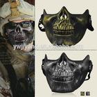 CS War Military Combat Mask Half Face Skull Mask