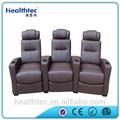 Style chinois cinéma chaise élégante inclinable canapé fixe