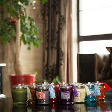 votive fir balsam sprayed candles