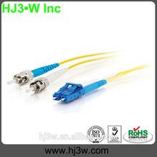 Singmode&duplex LC-ST fiber optic cable prices/optical equipment