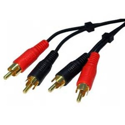 RCA/AV 3.5mm male stereo jack to 3 RCA audio Cable for HD TV