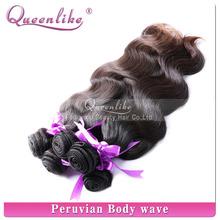100% unprocessed hair remy original peruvian hair bundle