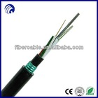Supply high quality GYTY53 outdoor loose tube stranded armored multimode 50 125 fiber optical cable