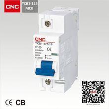 YCB1-125 pin type mcb copper busbar
