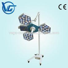 LED surgical light with castor floor models