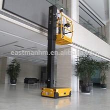 No Hydraulic Mast Lift E12 Construction site