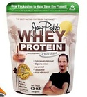 Whey protein powder printed customized food plastic packaging bag with zipper