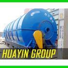 HUAYIN BRAND waste rubber plastic pyrolysis plant