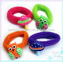 Kids cute ponytail holders, Girls' mini elastic hair band