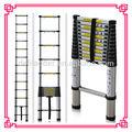 Alumínio telescópica extensão escadas de etapa