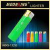 wholesale five solid plastic lighter , windproof cigarette lighter