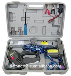 1 Ton 12 Volt Car Use Portable Electric Scissor Jack Blow Case