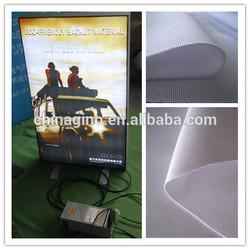environmental Backlit fabric(100% polyester) fire retardant