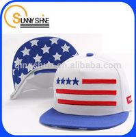 Sunny Shine China wholesale custom cheap stars and stripes embroidery baseball cap