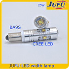 12v 25w R3 auto led lamp led bulb led light BA9S R3 auto led head lamp