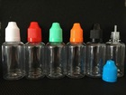 PET thin tip plastic bottle with childproof cap needle bottle hot selling parts