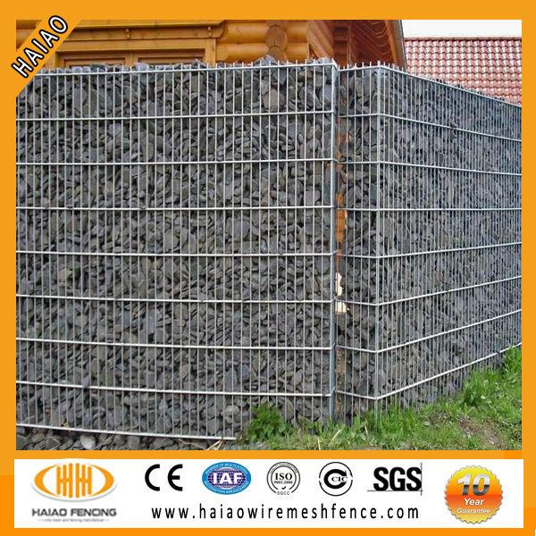 Pas cher prix gabion cl ture soud gabion mur fil de fer barbel id du produ - Cage gabion pas cher ...