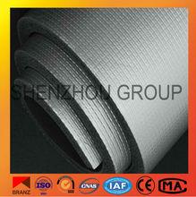 heat insulation foam rubber material aluminium foil faced rubber foam tubing