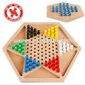деревянные шестиугольника шашки шестиугольника шашки flying шахматной игры