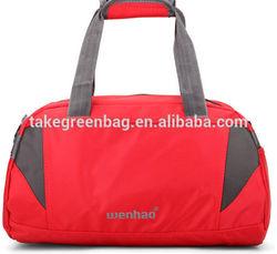 polyester travel luggage bag