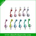 Dongguan gros titanium body piercing bijoux