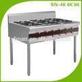Portátil de acero inoxidable de gas del quemador/cocina de gas
