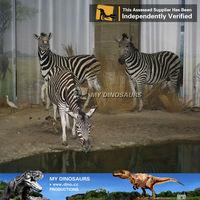 My dino-animatronic zebra theme park fiberglass indoor playground exhibition