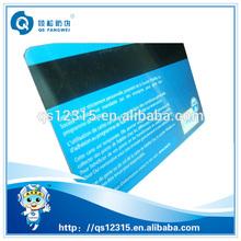 Blue vip printed pvc card inkjet