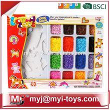 Direct selling funny plastic perler ironing bead diy fantastic theme park super 3d puzzle BT-0058B