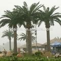 de coco artificial de árboles de palma