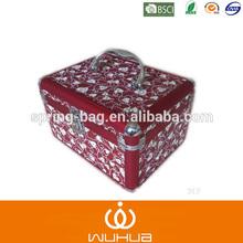 2015 wholesale aluminum cosmetic case metal makeup case