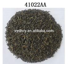 chunmee green tea 41022AA with high quality chinese tea in yellow box