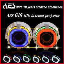 Top Sale AES-G1S HID bixenon projector lens kit, Original AES-G1S hid square projector lens, toyota rav4 hid headlight