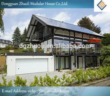 Hot !! Low cost and modern design luxury light steel villa