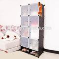 Popular 2014 10 cubos del armario a medida con diseño en relieve de margarita golpeteo de material de pvc( fh- al0532- 8)