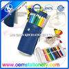 fashion stylish wholesale pencil case / leather pencil case for teenagers