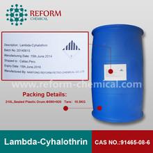 Lambda-Cyhalothrin 25%WP CAS No:91465-08-6 control animal insects pesticides
