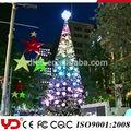 yd ip68 de cadena de lujo luces chritsmas para la decoración de los árboles de la fcc ce cqc ul