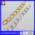 De alta calidad de moda multi- de aluminio de color de la joyería de la cadena de metal