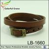 2014 fashion genuine leather wrist band