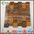 sucinta de mosaico de vidrio de arte interior o la decoración exterior