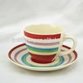 Arábica café e chá conjuntos, café da porcelana define, chá a granel xícaras e pires de porcelana barata