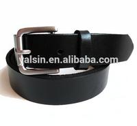 bgr1625 custom black plain cowhide leather belt men.cowboys man belt leather