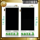china wholesale cellphone lcd touch screen for samsung galaxy note 2 n7100(without frame)