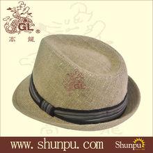 wholesale straw fedora hat