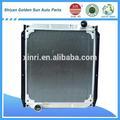 kamaz 5320 radiador de aluminio de los proveedores en china para el mercado ruso