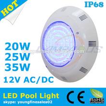 hot sale best price surface mounted underwater pool lights ip68 12v led waterproof spa lights