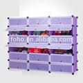 2014 venda quente baratos de plástico moderno 18 cubos de armazenamento do armário com gavetas( fh- aw241821- 18)